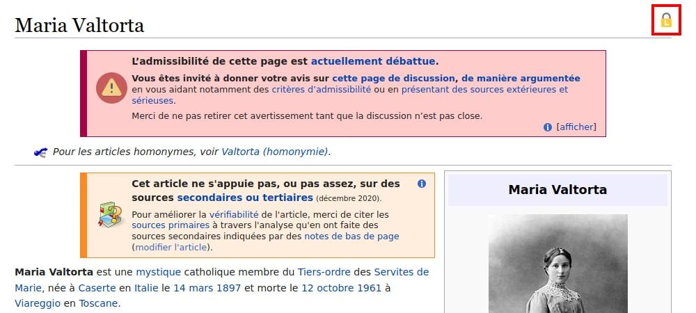 Un article Wikipédia de mauvaise qualité